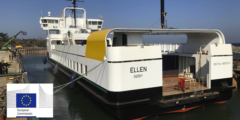 El ferry eléctrico más potente del mundo ya circula en Dinamarca
