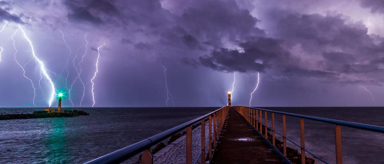 ¿Cómo refugiarse de una tormenta eléctrica?