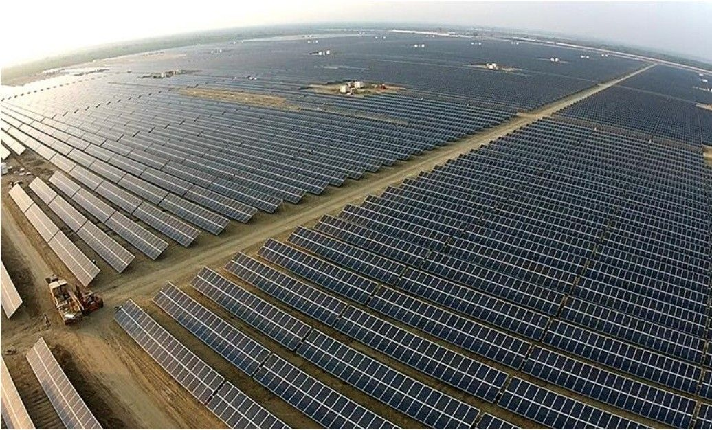 ¿Cuál es la mayor planta solar del mundo?